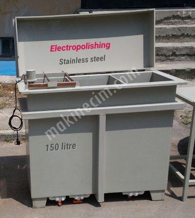 Satılık İkinci El İkinci El Elektropolisaj Sistemi-150 Lt Fiyatları İzmir elektropolisaj,elektroparlatma,elektro polisaj,polisaj,paslanmaz çelik parlatma,pirinç parlatma,pirinç polisaj,redresör,banyo,asit