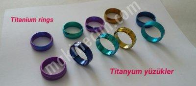 Satılık Sıfır Titanyum Yüzük Renklendirme Sistemi Fiyatları İstanbul titanyum,yüzük,renklendirme