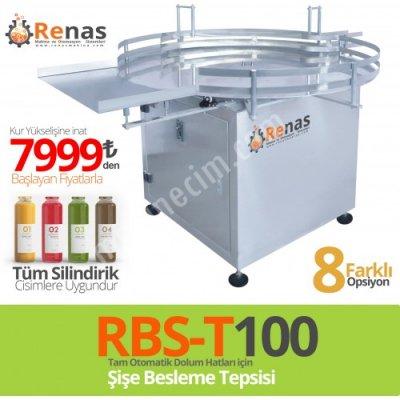 Rbs-T100 Şişe Ve Kavanoz Besleme Tepsisi