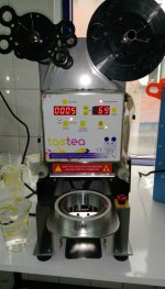 Ryk-1000 Yarı Otomatik Bardak Kapatma Makinası