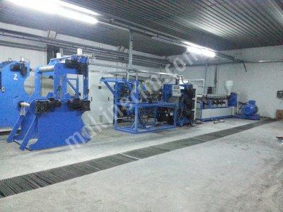 Satılık 2. El Plastik Bardak Fabrikasına Satılık Fiyatları  PLASTİK BARDAK TERMOFORM MAKİNA EKSUDER MAKİNASI  PET BARDAK komlike tesis,badonuz makinası