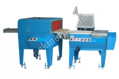 Turangil Tgs2035 Yarı Otomatik 35X35 Tünelli Pvc Yumurta Shrink Ambalaj Makinesi