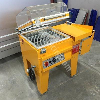 Turangil Tgs1035 Yarı Otomatik 34X45 Küvezli Poliolefin Pvc Shrink Ambalaj Makinesi