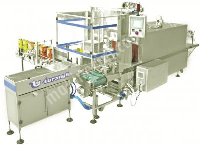 Turangil Tgs5060 Tam Otomatik Yandan Beslemeli Sıralamalı Polietilen Shrink Ambalaj Makinesi