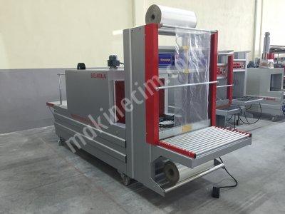 Turangil Tgs80 Yarı Otomatik 80X45 Tünelli Polietilen Shrink Ambalaj Makinesi
