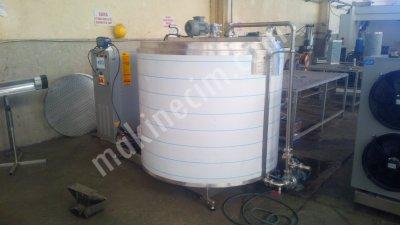 2000 Lt Dikey Süt Soğutma Tankı