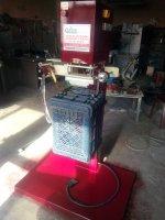 Plastik Kasa Sıcak Baskı Makinası Yaldız Varak Baskı Makinası Marka İsim Yazma