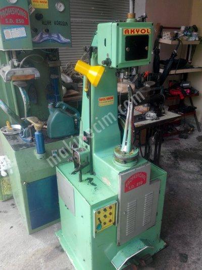 Satılık İkinci El Akyol Marka Mekikli Masuralı Fora Makinası Fiyatları Mersin akyol Marka Mekikli Masuralı Fora Makinası  akyol makina sanayi ayakkabı tamirci makinaları