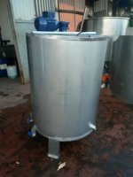 Milk Cooking Boiler Milk Cooking Tank Chrome Milk Cooking