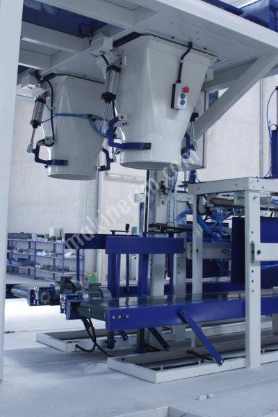Turangil Tg850D Tam Otomatik Terazili Sistem Yem Küspe Silaj Çuval Dolum Paketleme Makinesi
