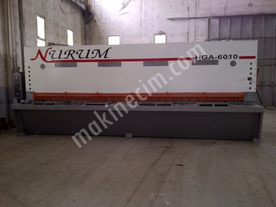 Baykal 6Mtx10Mm Hydraulic Guillotine Cake 1997 Model