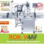Rok-V4Af-Tam-Otomatik-Kapak-Beslemeli-Vidalı-Kapak-Sıkma-Makina
