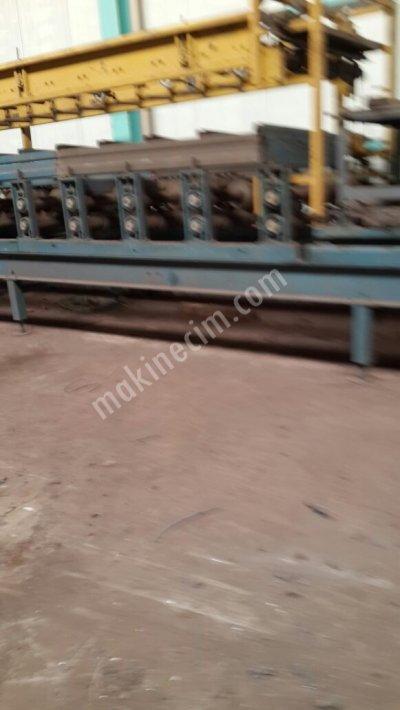 Satılık 2 Adet Özel Yapım Trapez Makinesi 27X210 Formu-90X110 Formu
