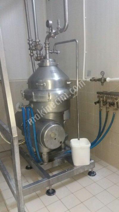 Süt Makinesi Krema Makinesi Seperatör Süt Kaynatma Kazanı Ayran Dolum Makinesi