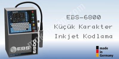 Ebs 6800 Küçük Karakter Inkjet Kodlama