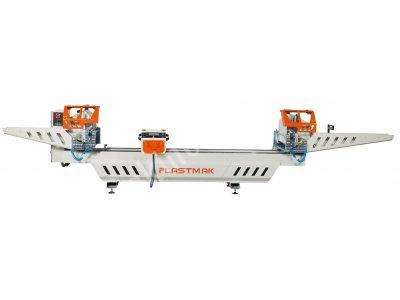 Barkodlu  Yeni Model Çift Kafa Kesim Makinası (Sç400)