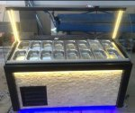 Salatbar Kumpir Dolabi Komple Let Aydinlatmali Metre 3.000