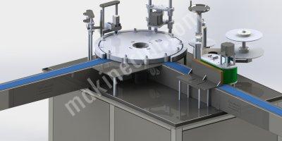 Monoblok Dolum Kapatma Ve Etiketleme Makinası