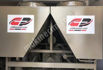 Satılık 2. El 780 Kw= 670.000 Kcal/h Amerikan Trane Vidalı Chiller Soğutma Grubu