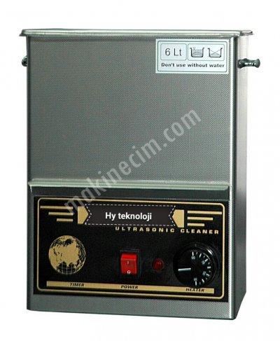 Satılık Sıfır Ultrasonik Yıkama Makinası- 6 Lt Fiyatları İstanbul ultrasonik