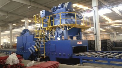 Shet And Profile Blast Cleaning Machines