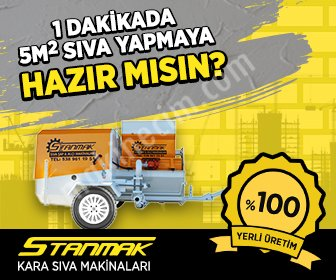 Stp Pistonlu Kara Sıva Makinası