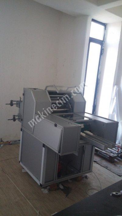 Satılık Sıfır Spanç Katlama Makinası Fiyatları İstanbul spanç,spanc,spanç katlama,gazlıbez,gazlı bez,spanc katlama,sargıbezi,sargı bezi,gazue folding and cutting machine,gazue