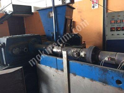 Satılık İkinci El 100 Lük Granül Makinası Saate 200 Kg Üretim Fiyatları  100 lük granül makinası