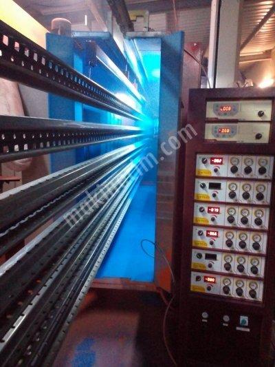 Satılık Sıfır Toz Boya Tesisi Elektrostik Sistem Fırın Fiyatları İstanbul ELEKTROSTAİK BOYAMA SİSTEMİ