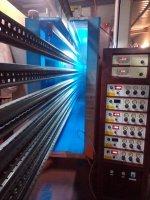 Pintura Elektrostatic Del Polvo Del Sistema Y Tratamiento Superficial Fosfate Que Cubre