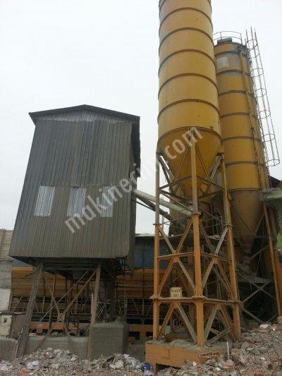 Satılık 2. El 105 m3 Güriş Beton Santral Fiyatları Afyon santral ğüriş silo bunker bant karıştırıcı göker meka nace pi makina bozdag