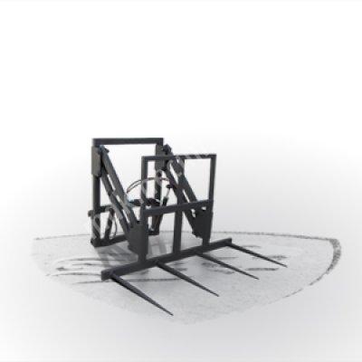 Asansörlü Kare Balya Çatalı (4 Şişli)
