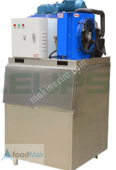 Küçük Yaprak Buz Makinası 300Kg/gün