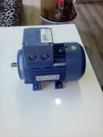 0.25 Kw 1500 Devir Abana Elektrik Motoru