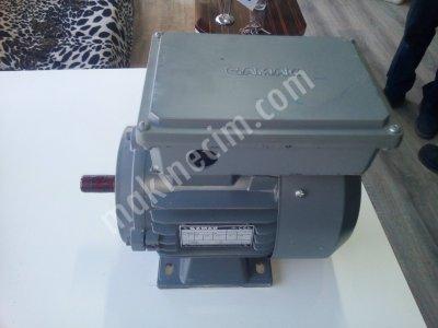 Satılık Sıfır 0.75 Kw 1500 Devir Gamak Monofaze Motor Fiyatları Konya Gamak motor, redüktör, motor