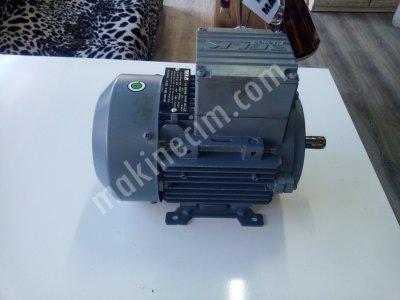 Satılık Sıfır 0.55 Kw 1500 Devir Dk Elektrik Motoru Fiyatları  Motor, redüktör, fan, elk motor redüktör,