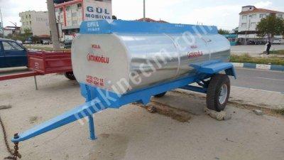 Sıfır Su Tankeri 3 Tonluk Galvaniz Manisada