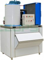Flake İce Machine 1000 Kg/day