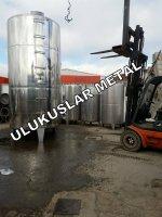 Paslanmaz Su Süt Yag Glikoz Tahin Depolama Tankı Şarap Tankları 304-316 Kalite