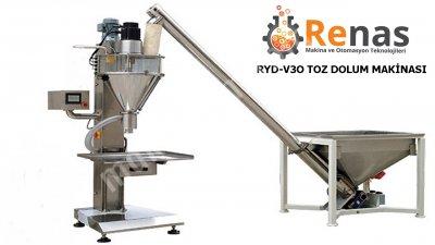 Satılık Sıfır Renas Toz Dolum Makinası + Besleme Helezonu Fiyatları İstanbul toz dolum makinası,toz dolum, dolum makinası,