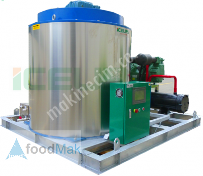 Satılık Sıfır Yaprak Buz Makinası 8 Ton / 24 Saat Fiyatları  etkili soğutma, uygun fiyatlı yaprak buz makinesi, soğutma sistemi, yaprak buz soğutma, buz depolama tankı, sürekli yaprak buz üretimi, kolay yaprak buz,