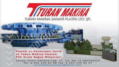 Poliüretan Terlik Makinesi 60 İstasyon