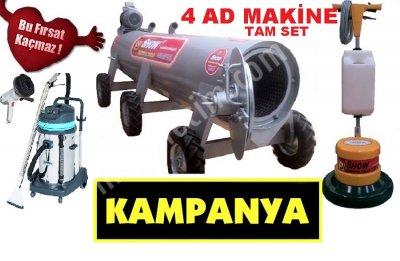 Halı Sıkma Makinası,koltk Yık Maknsı,halı Yıkama Mak Meç Komple Set 7200 Tl