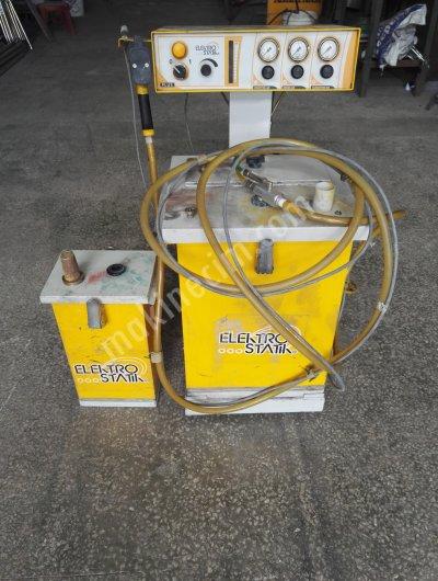 Elektro Statik Toz Boya Fırını Boya Kabin Boya Tabancası