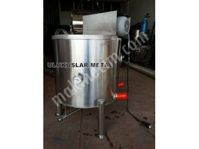 Paslanmaz Süt Pişirme Kazanı 100 Litre Elektirikli Hesaplı Uygun Fiyat