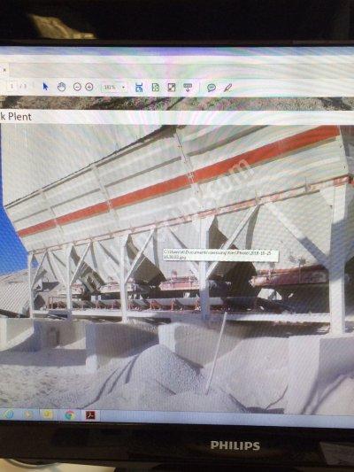 Satılık 2. El 400-500 Ton/saat 2013 Model  Sabit Mekanik Plent Fiyatları İstanbul mekanik plent