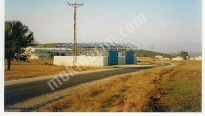 Çatı  Çelik Konstruksiyon   672 M2  Satılık