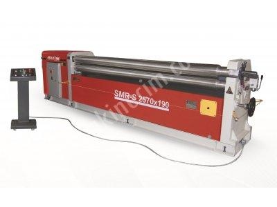 3 Toplu Motorlu Silindir Kıvırma Makinesi