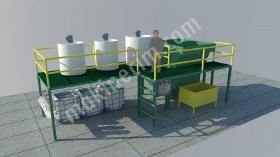 Satılık Sıfır Paket Kimyasal Atıksu Arıtma Sistemi Fiyatları İzmir arıtma,kimyasal,paket,tekstil,yağ,atık,atıksu,boya,çevre
