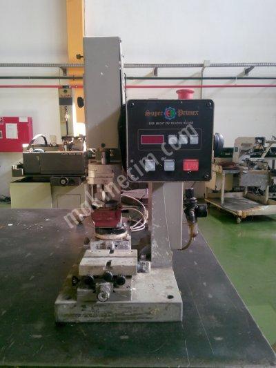 Satılık 2. El Tanpon Baskı Makinesi Fiyatları İstanbul tampon baskı makinesi